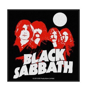 BLACK SABBATH - 'Red Portraits' Patch