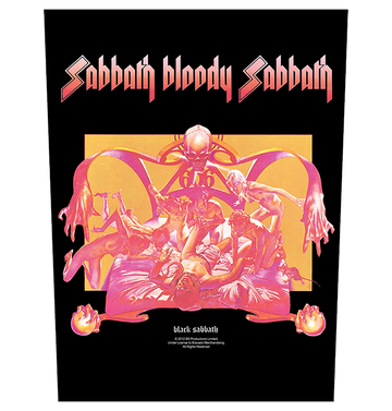 BLACK SABBATH - 'Sabbath Bloody Sabbath' Back Patch