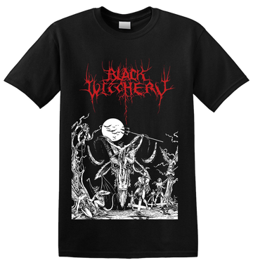 BLACK WITCHERY - 'Upheaval Of Satanic Might' T-Shirt