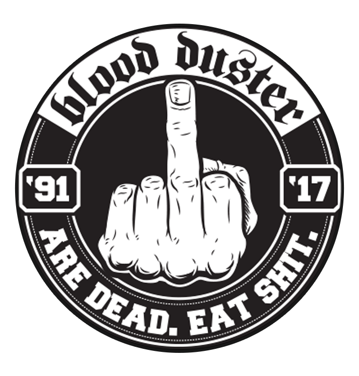 BLOOD DUSTER - 'Are Dead' Patch