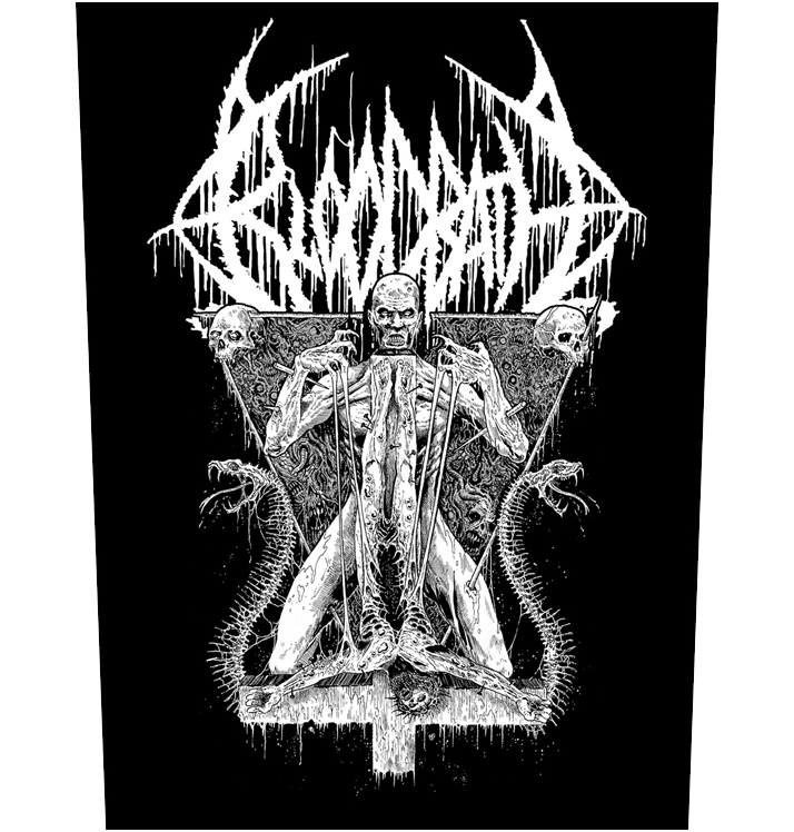 BLOODBATH - 'Morbid Antichrist' Back Patch