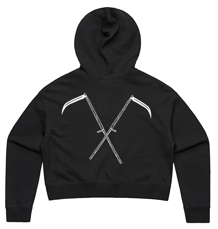 BAG OV BONES - 'Soul Harvests' Pullover Cropped Hoodie
