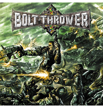 BOLT THROWER - 'Honour. Valour. Pride' CD