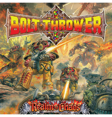 BOLT THROWER - 'Realm Of Chaos' CD