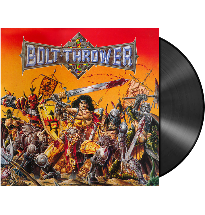 BOLT THROWER - 'Warmaster' LP
