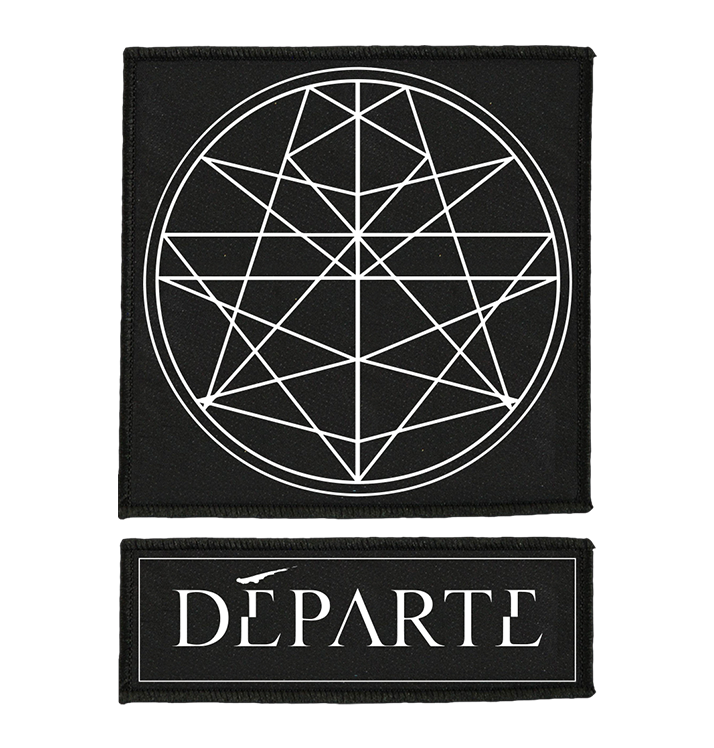 DÉPARTE - 'Logo/Emblem' Patch (2 Pack)