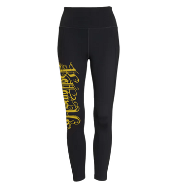 BOTTOMS UP - 'Gold Logo' Leggings