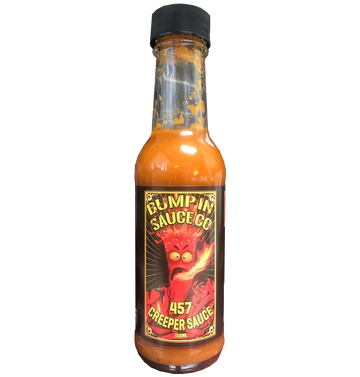 BUMP IN SAUCE CO - '457 Creeper Chilli Sauce' 150ml Hot Sauce