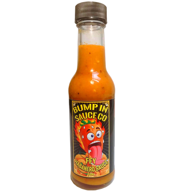 BUMP IN SAUCE CO - 'FFY Habanero Sauce' 150ml Hot Sauce
