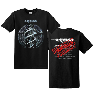 CARCASS - 'Cancelled Grenade Tour' T-Shirt