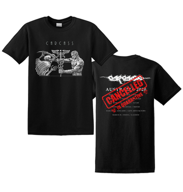 CARCASS - 'Cancelled Skull Tour' T-Shirt