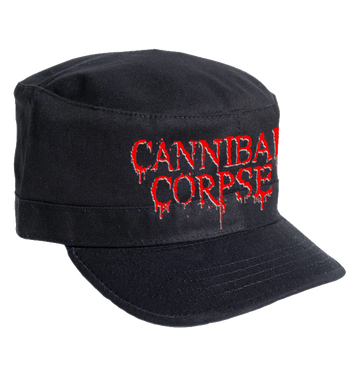 CANNIBAL CORPSE - 'Logo' Army Cap