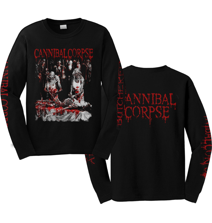 CANNIBAL CORPSE - 'Butchered At Birth' Long Sleeve