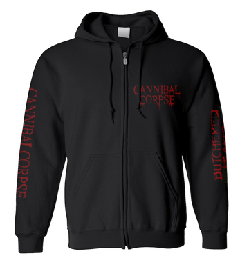 CANNIBAL CORPSE - 'Butchered At Birth' Zip-up Hoodie
