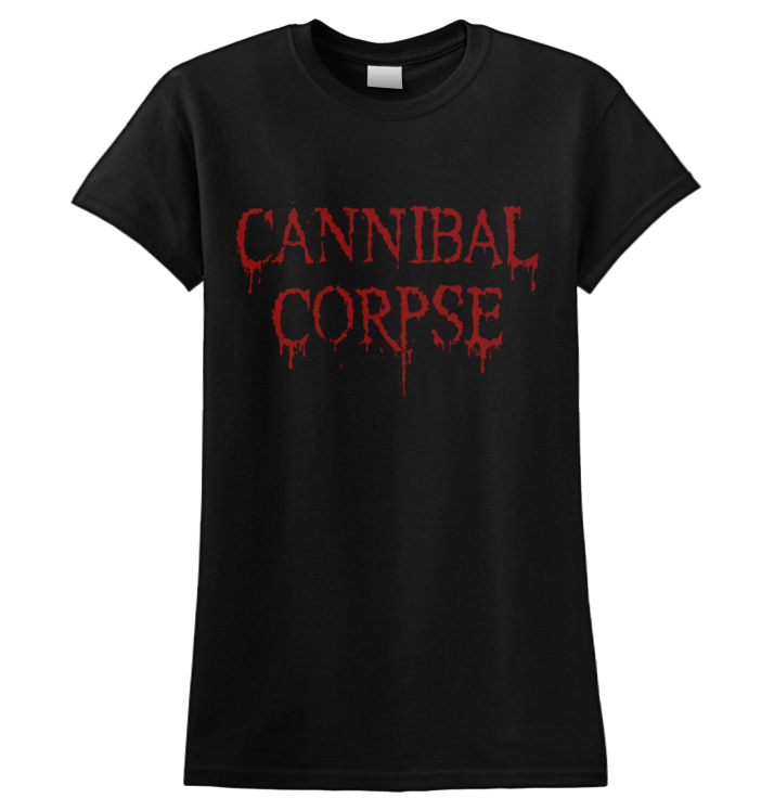 CANNIBAL CORPSE - 'Dripping Logo' Ladies T-Shirt
