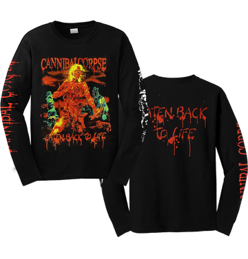 CANNIBAL CORPSE - 'Eaten Back To Life' Long Sleeve