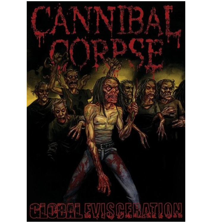 CANNIBAL CORPSE - 'Global Evisceration' DVD
