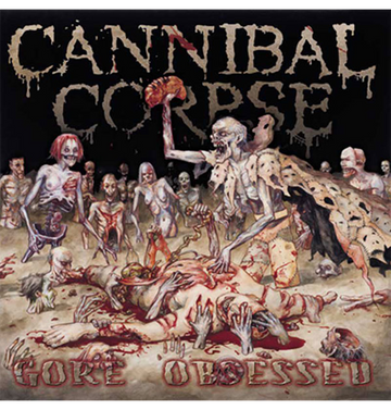 CANNIBAL CORPSE - 'Gore Obsessed' CD