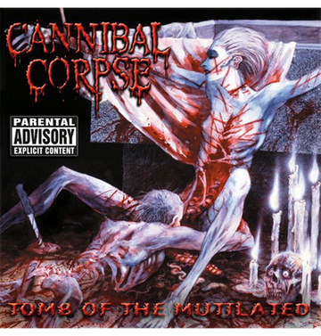CANNIBAL CORPSE - 'Tomb Of The Mutilated' CD