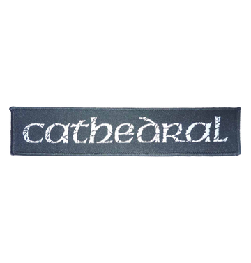 CATHEDRAL - 'Logo' Patch