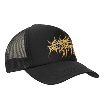 CATTLE DECAPITATION - 'Gold Logo' Trucker Cap