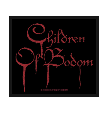 CHILDREN OF BODOM - 'Blood Logo' Patch