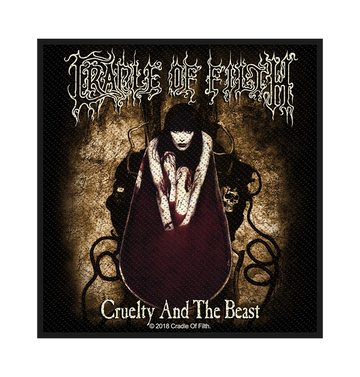 CRADLE OF FILTH - 'Cruelty And The Beast' Patch