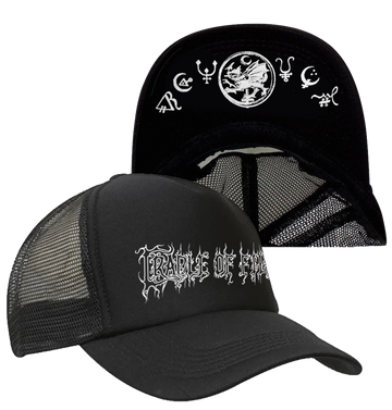 CRADLE OF FILTH - 'Logo' Trucker Cap