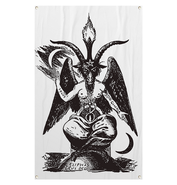 BAG OV BONES - 'Baphomet' Flag