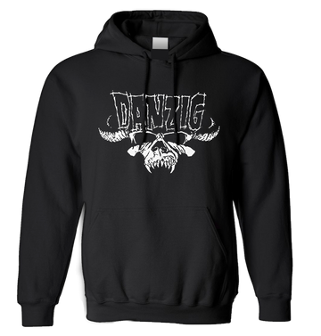DANZIG - 'Classic Logo' Pullover Hoodie