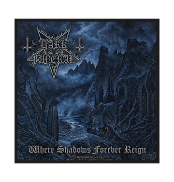 DARK FUNERAL - 'Where Shadows Forever Reign' Patch