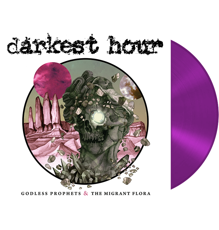 DARKEST HOUR - 'Godless Prophets & The Migrant Flora' LP (PURPLE)
