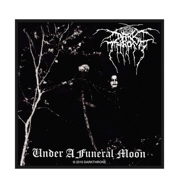 DARKTHRONE - 'Under A Funeral Moon' Patch