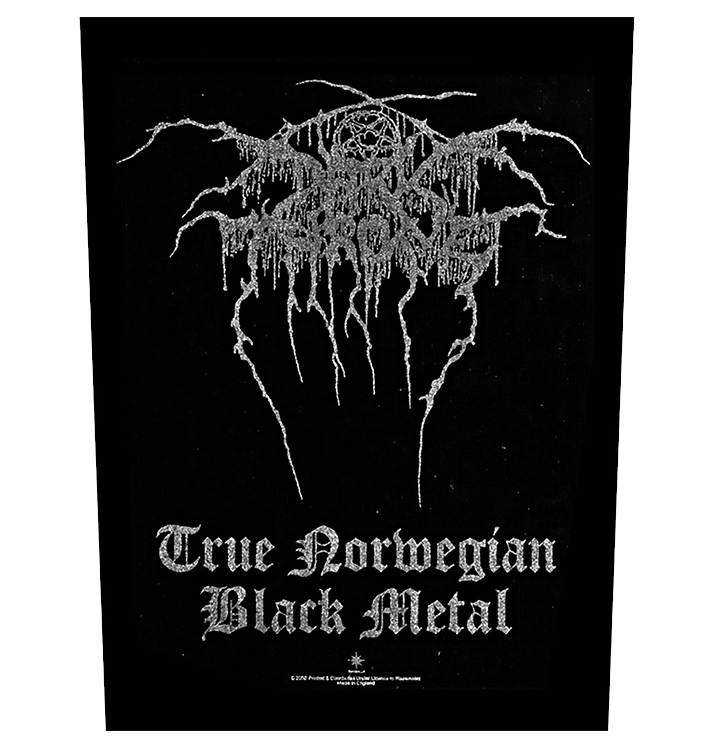 DARKTHRONE - 'True Norwegian Black Metal' Back Patch