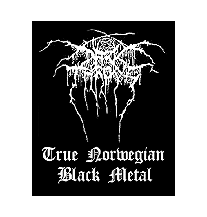 DARKTHRONE - 'True Norwegian Black Metal' Patch