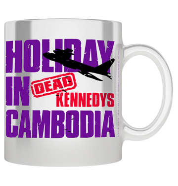 DEAD KENNEDYS - 'Holiday In Cambodia' Mug