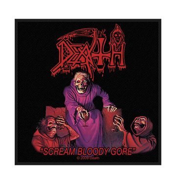 DEATH - 'Scream Bloody Gore' Patch