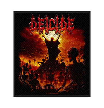 DEICIDE - 'To Hell With God' Patch