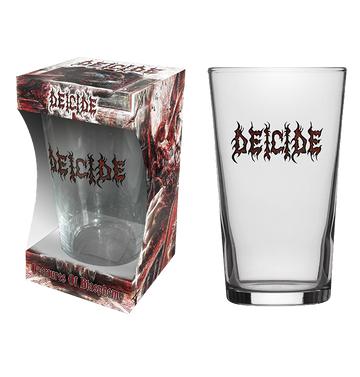 DEICIDE - 'Logo' Beer Glass