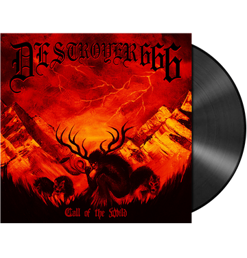 DESTROYER 666 - 'Call Of The Wild' LP