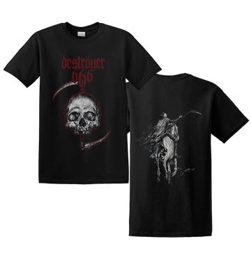 DESTROYER 666 - 'Skull' T-Shirt