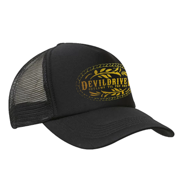 DEVILDRIVER - 'Outlaws Til The End' Trucker Cap