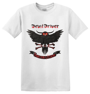 DEVILDRIVER - 'Pray For Villains' T-Shirt