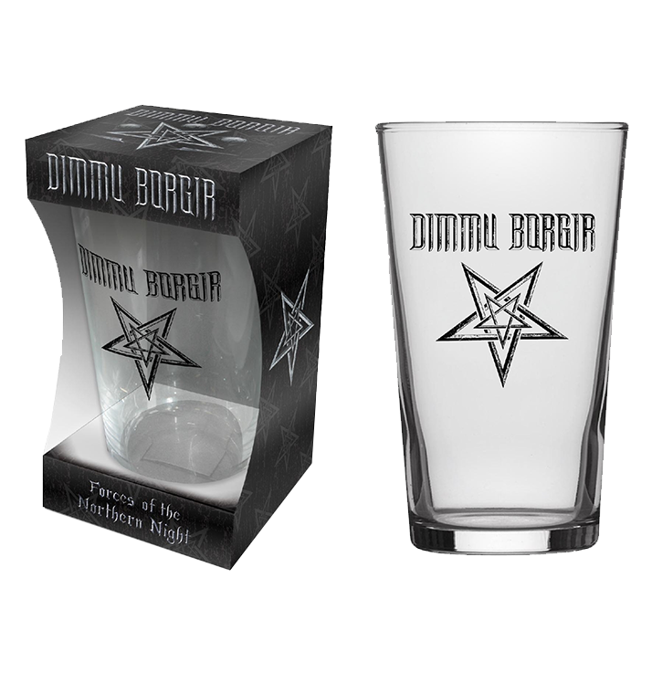 DIMMU BORGIR - 'Forces Of The Northern Night' Beer Glass