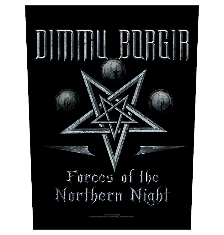 DIMMU BORGIR - 'Forces Of The Northern Night' Back Patch