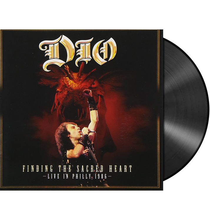 DIO - 'Finding The Sacred Heart - Live In Philly 1986' 2xLP