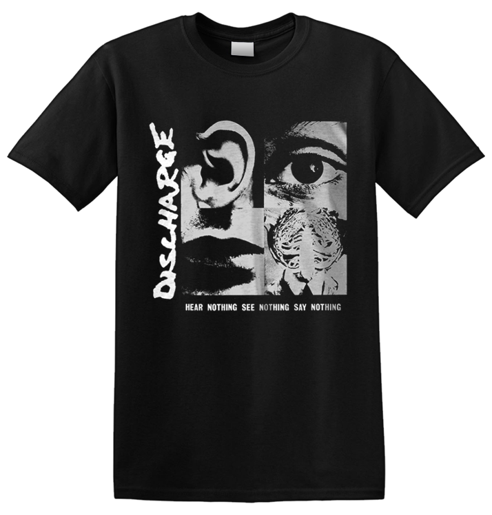 DISCHARGE - 'Hear Nothing' T-Shirt