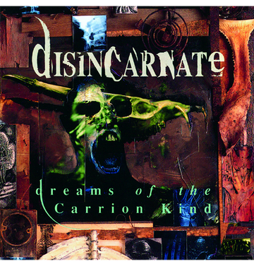 DISINCARNATE - 'Dreams Of The Carrion Kind' DigiCD