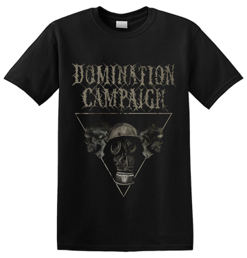 DOMINATION CAMPAIGN - 'Gasmask' T-Shirt (PREORDER)
