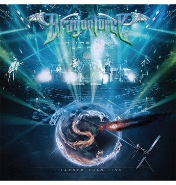 DRAGONFORCE - 'In The Line Of Fire...Larger Than Live' CD / DVD